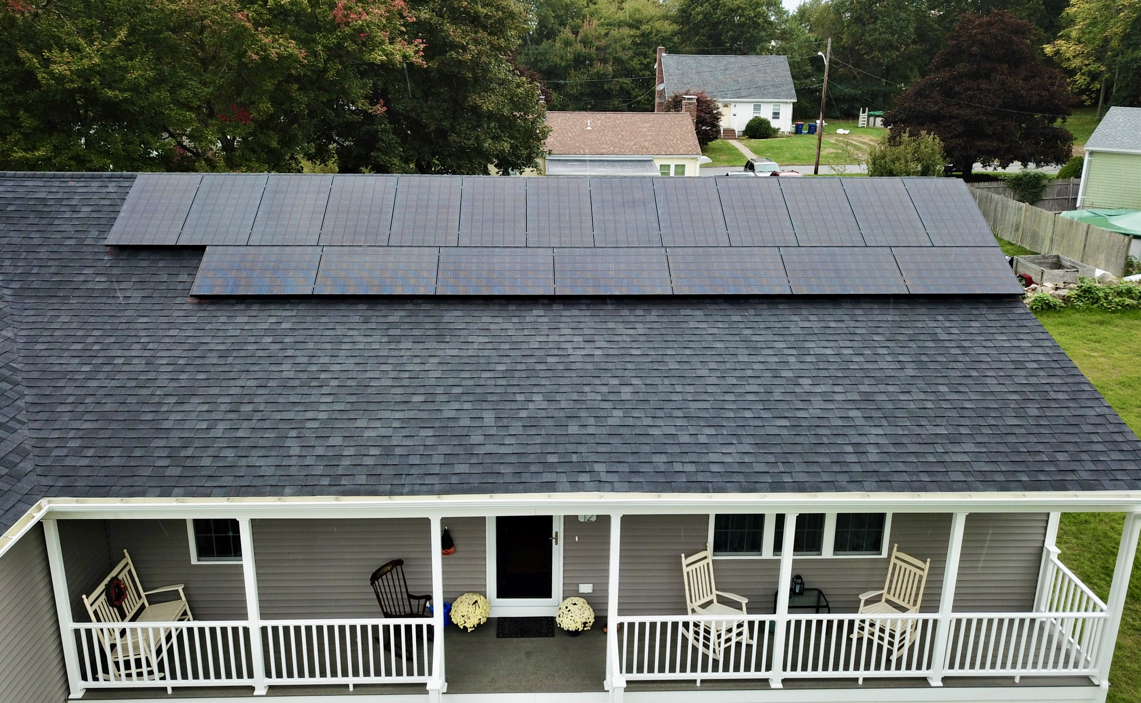 Fairhaven residential rooftop solar installation by My Generation Energy