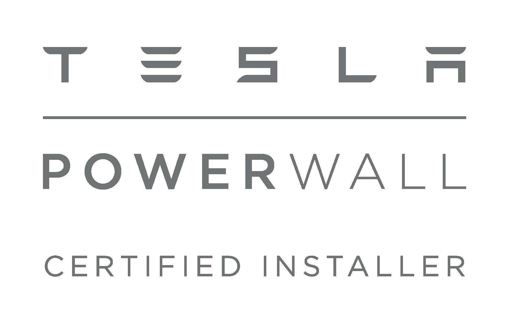 Tesla Powerwall Certified Installer Badge